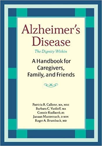 Book Alzheimer's Disease: A Handbook for Caregivers, Family, and Friends – May 10, 2005
