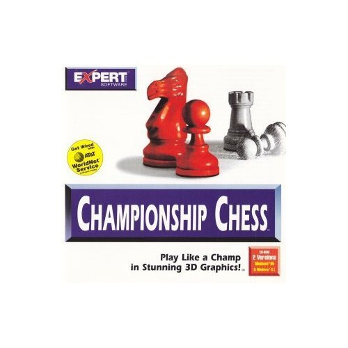 Expert Software–Championship Chess CD-ROM 2 Versions