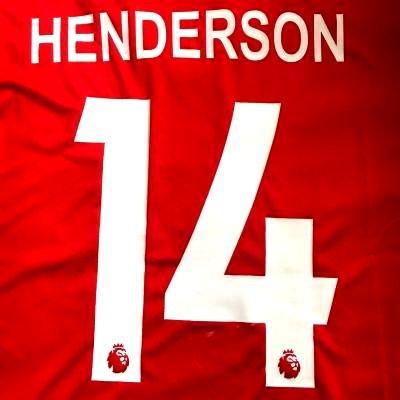 遡る狂信者提案する?代引可?大人用 A010 リバプール HENDERSON*14 ヘンダーソン 赤 19 ゲームシャツ パンツ付