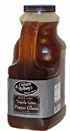Captain Rodney\'s Black Label Tequila Lime Pepper Glaze - 64 Oz
