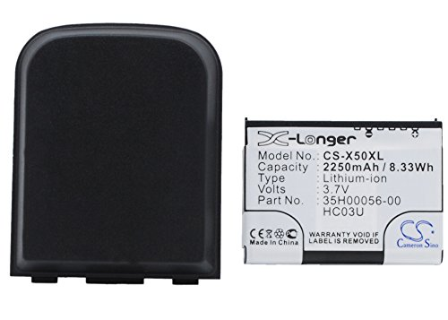 Cameronsino Extended Battery for Dell Axim X50, X50V, X51...