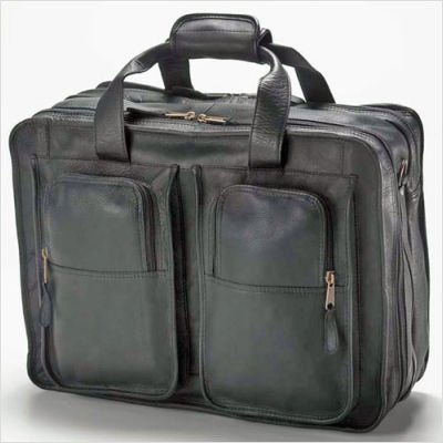 (Clava 7553 Flight Bag - Vachetta Black)