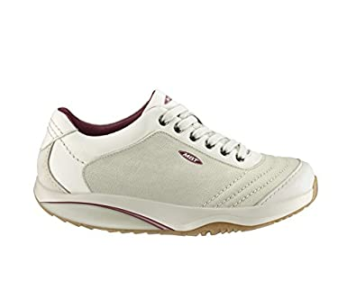 1c6308bb6ca8 MBT Women s Trainers Off White Size  3.5  Amazon.co.uk  Shoes   Bags