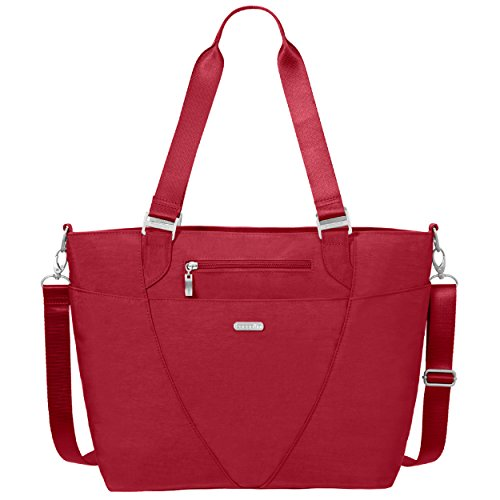 Bag Strap Purse Water Baggallini Crossbody resistant Avenue Multi Tote Lightweight Removable With Travel Apple And Adjustable pocketed xwxtZFfzq