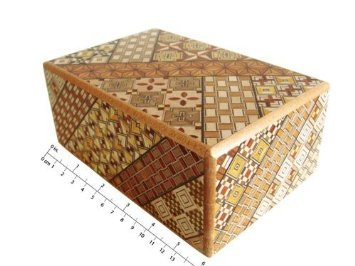 Yosegi Puzzle Box 5 sun 10 steps (Puzzle Boxes Secret compare prices)
