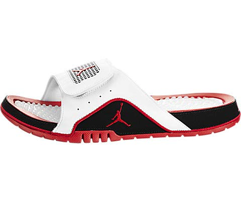 Jordan Air Hydro IV Retro White/Fire Red-Black, 8 M US