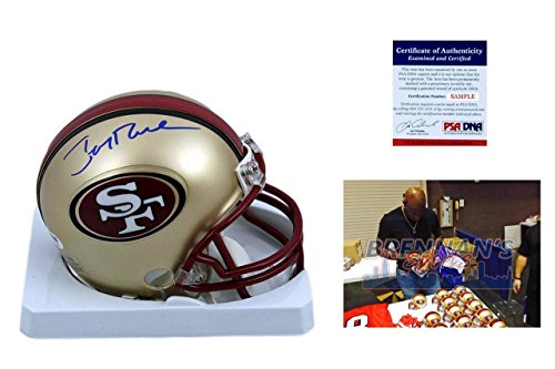Jerry Rice Autographed Mini Helmet - ITP - PSA/DNA Certified
