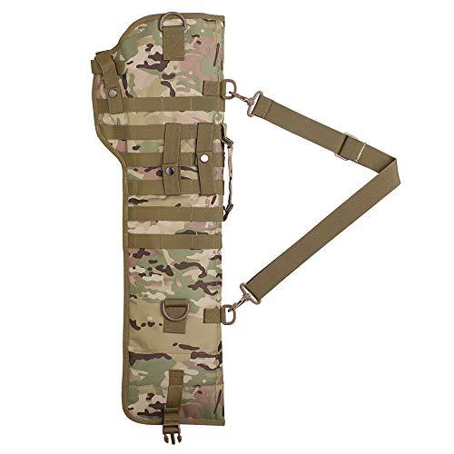 Tactical Rifle Scabbard Gun Bag Rifle Sling Case Bag Shotgun Scabbard Outdoor Hunting Gun Molle Holster