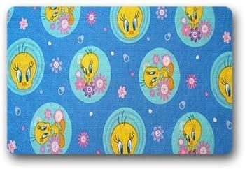 Custom Tweety Bird Doormat Floor Mats Rugs Outdoors//Indoor Doormat Size 23.6x15.7 inches