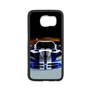 Dodge Samsung Galaxy S6 Cell Phone Case Black TPU Phone Case SV_076487