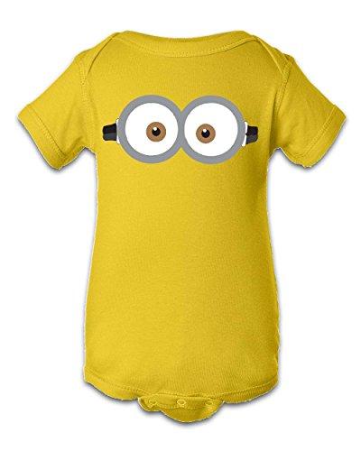 Tee Tee Monster Baby Boys'Minion Inspired Onesie 12 Month -