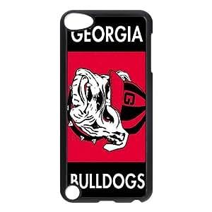 Customize Georgia Bulldogs Back Case for ipod Touch 5 JNIPOD5-1190