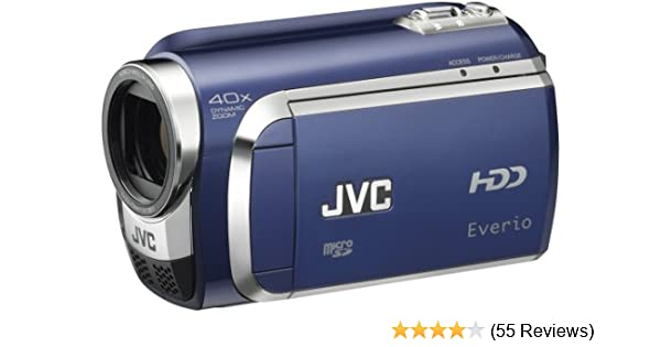 amazon com jvc everio gz mg630 60gb standard def camcorder blue rh amazon com