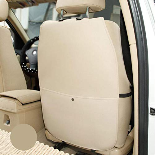 Car Seat Protector Covers, Kick Mat Auto Backseat Covers With Organizer Pockets, Waterproof Kick Guards To Protect Your Leather Seats From Damage,Beige1,1Pcs: Amazon.co.uk: Kitchen & Home