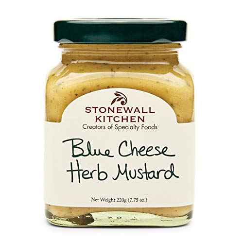 Stonewall Kitchens, Mustard Blue Cheese Herb, 7.75 Ounce