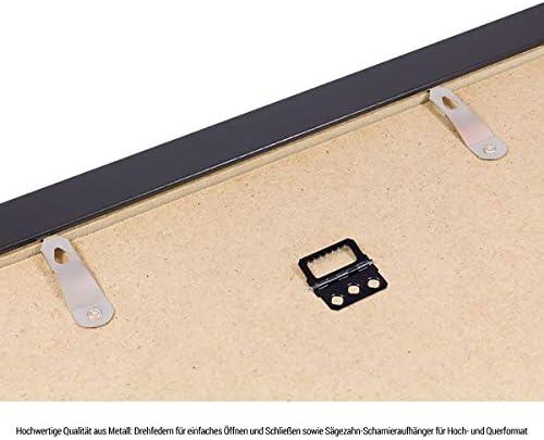 1500-2000 Teile 75X98cm Dunkelblau Bilderrahmen f/ür Puzzle ca