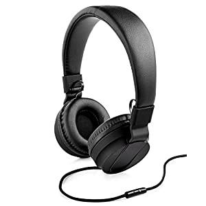 Polaroid Premuim Sound Foldable Headphones, Black
