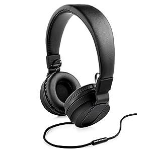 Polaroid Premuim Sound Foldable Headphones, Black