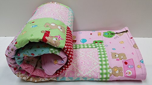 Teddy Bear Picnic Baby Quilt by Now and Then Quilts
