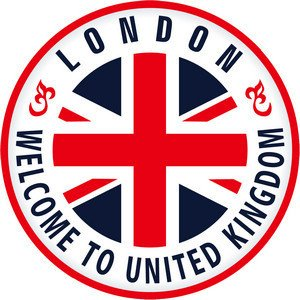 Travel to London, England travel sticker seal - suitcase Tablet PC (japan import)