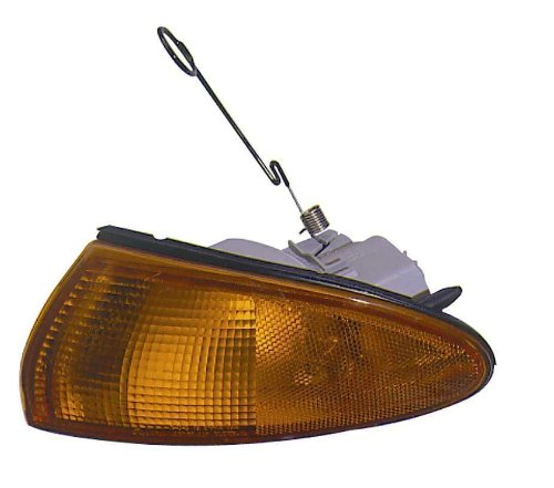 Depo 314-1509R-AS Mitsubishi/Dodge/Plymouth/Eagle Passenger Side Replacement Parking/Signal Light Assembly