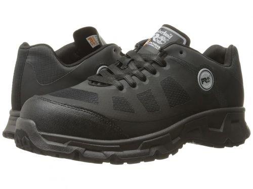 Timberland PRO(ティンバーランド) メンズ 男性用 シューズ 靴 ブーツ 安全靴 ワーカーブーツ Velocity Alloy Safety Toe Boot Black Synthetic [並行輸入品] B07C8H211D  11 D Medium
