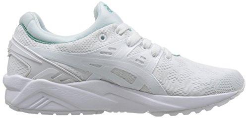 Bianco Sneaker Trainer Gel Bianco Kayano EVO Asics qXAXwrO