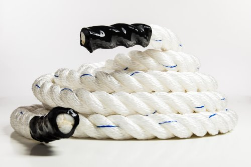 Battle Crossfit Battling Training Core Workout Rope (1.5in Thick X 40ft Long)