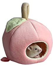 ANIAC Pet Winter Hanging Fruit House Hammock Warm Bed Nest Accessories for Hamster Guinea Pig Hedgehog Chinchilla Hamster Hedgehog Chinchilla and Small Animals