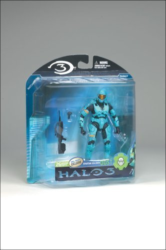 Halo 3 Mcfarlane Toys Series 2 Exclusive Action Action Action Figure LIGHT Blau Spartan Soldier ODST by TaiChoKen b2c7df