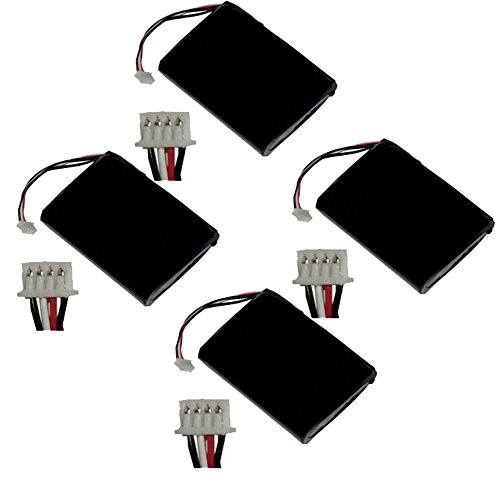 Adaptec ABM-600 Memory Back up Wireless Router Battery Combo-Pack Includes: 4 x PDA-420LI Batteries
