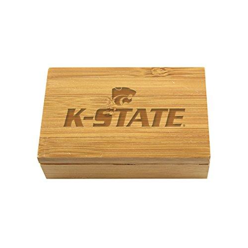 Kansas State Bamboo Corkscrew Set