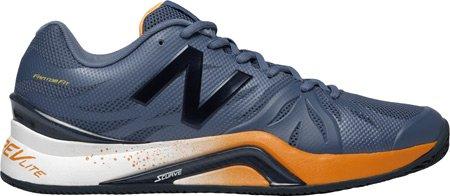 NEW BALANCE-1296V2Scarpe da tennis uomo (grigio/rosso) Grey/Orange