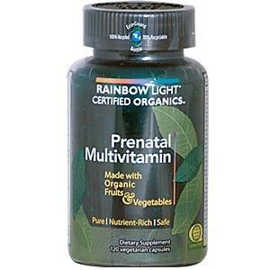 Prenatal Organic Multivitamin - 120 - Capsule