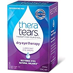 TheraTears Dry Eye Therapy- Lubricant Eye Drops- Preservative Free- 32 CT