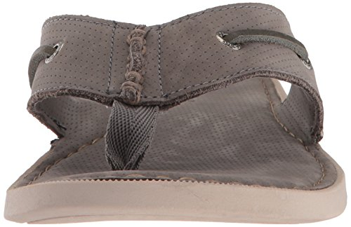 Sperry Top-sider Mens A / O String Plat Sandale Gris