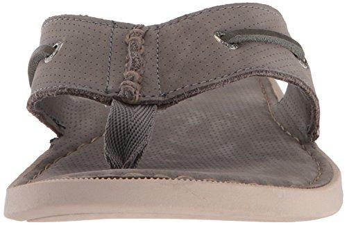 Sperry Topp-sider Menns Et / O Thong Flat Sandal Grå
