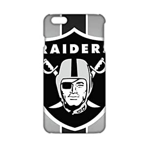 Ultra Thin 3D Case Cover Oakland Raiders Logos Phone Case for iPhone6 plus