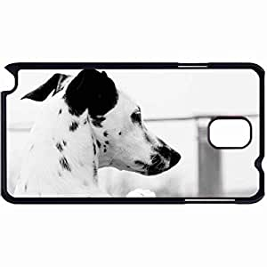 New Style Customized Back Cover Case For Samsung Galaxy Note 3 Hardshell Case, Back Cover Design Dalmatian Personalized Unique Case For Samsung Note 3