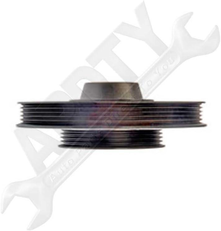 APDTY 605442 Harmonic Balancer Crank Pulley Dampener Assembly