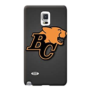 Excellent Hard Cell-phone Case For Samsung Galaxy Note 4 With Custom HD Bc Lions Pictures JamieBratt