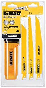 Dewalt DT2440-QZ Reciprocating Blade Set 6 Pieces