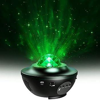 Amazon Com Star Projector Miikare 2 In 1 Night Light