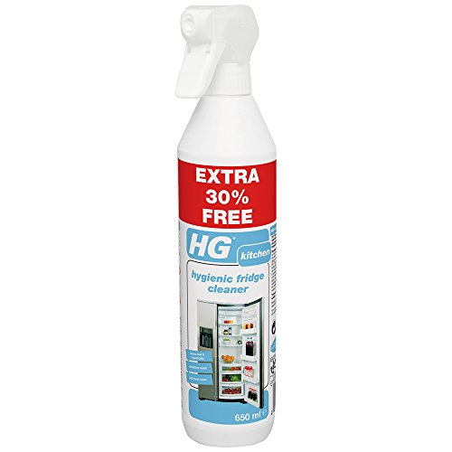 HG 1 x Hygienic Fridge Cleaner, White, 650 ml