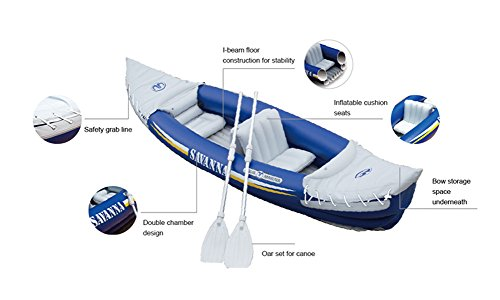 Aqua Marina Inflatable Savanna Kayak Canoe