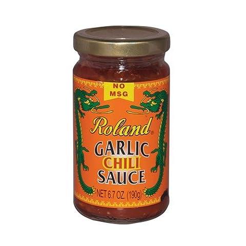 Garlic Chili Sauce by Roland (6.7 ounce) (Roland Garlic)