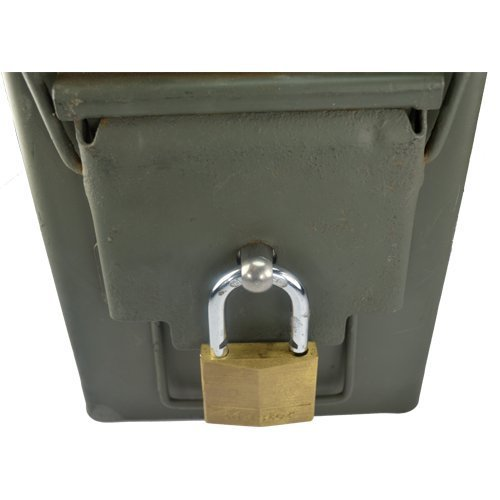 Ammo Box Can Lock Hardware Kit .50 Cal, Fat 50, 30 Cal, 20 mm, 40 mm (10 Count)