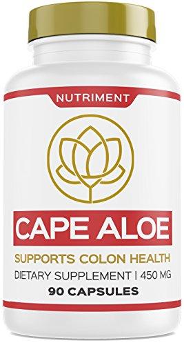 Cape Aloe 450mg Natural Laxative Aloe Ferox Colon Health Digestion Immune System 90 Capsules