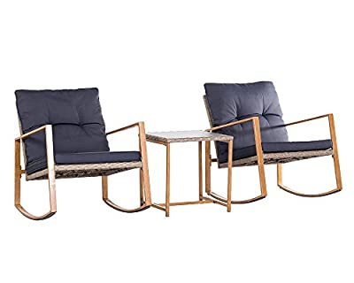 Suncrown 3 piece bistro set