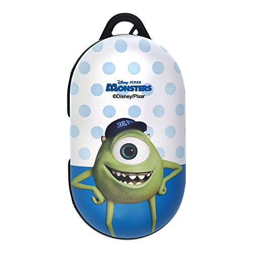 Monsters, Inc, Compatible with Galaxy Buds Case Galaxy Buds Plus (Buds+) Case Protective Hard PC Shell Cover - Movie Mike